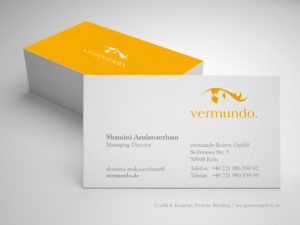 Grafikdesign - Visitenkarten vermundo - Wenckesweg